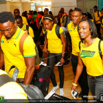 Rashid Dwyer in Nassau Bahamas for 2015 IAAF World Relays