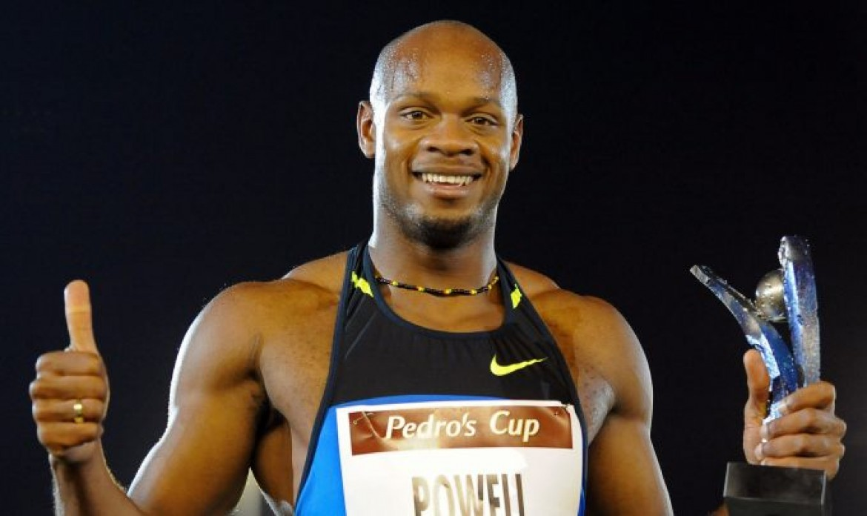Asafa Powell wins in Guadeloupe