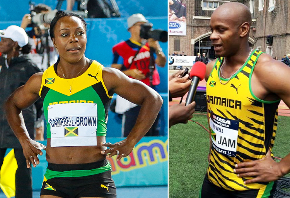 Veronica Campbell-Brown and Asafa Powell named Team Jamaica captains