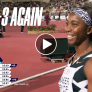 VIDEO: Jamaica 1-2-3 for the third consecutive time in the Women's 100M